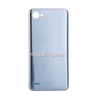 Capac Baterie Spate LG Q6 Argintiu