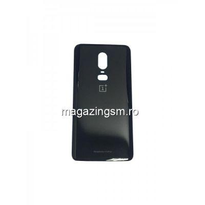Capac Baterie Spate OnePlus 6 Negru