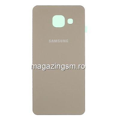 Capac Baterie Spate Samsung Galaxy A3 SM-A310F (2016) Gold