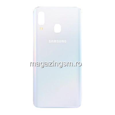 Capac Baterie Spate Samsung Galaxy A40 A405 Original SWAP Alb