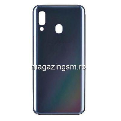 Capac Baterie Spate Samsung Galaxy A40 A405 Original SWAP Negru