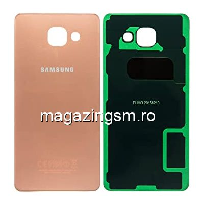 Capac Baterie Spate Samsung Galaxy A5 A510 2016 Roz Auriu Original