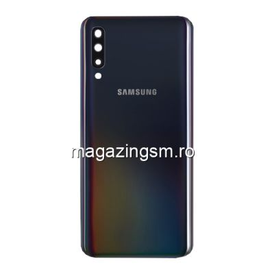 Capac Baterie Spate Samsung Galaxy A50 A505 Original SWAP Negru