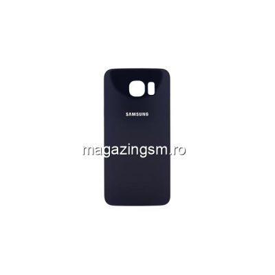 Capac Baterie Spate Samsung Galaxy S6 Edge Albastru