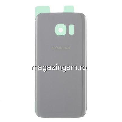 Capac Baterie Spate Samsung Galaxy S7 SM-G930 Argintiu