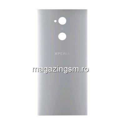 Capac Baterie Spate Sony Xperia XA2 Ultra Cu Adeziv Sticker Argintiu