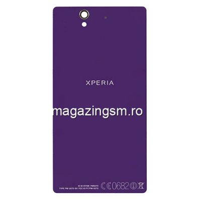 Capac Baterie Spate Sony Xperia Z C6603 L36h Original Violet