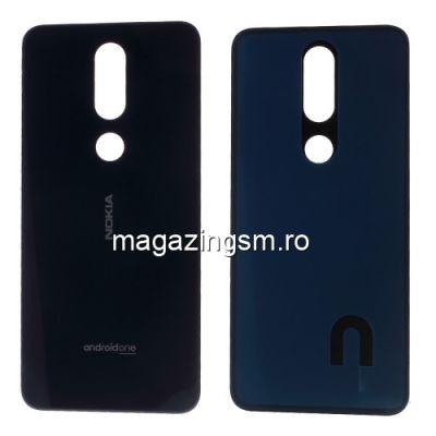 Capac Nokia 7,1 Spate Baterie Negru
