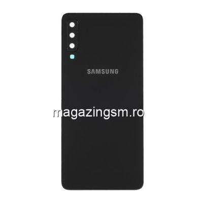 Capac Samsung Galaxy A7 A750 2018 Spate Baterie Negru
