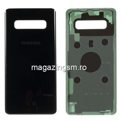 Capac Samsung Galaxy S10 Plus G975 Spate Baterie Negru