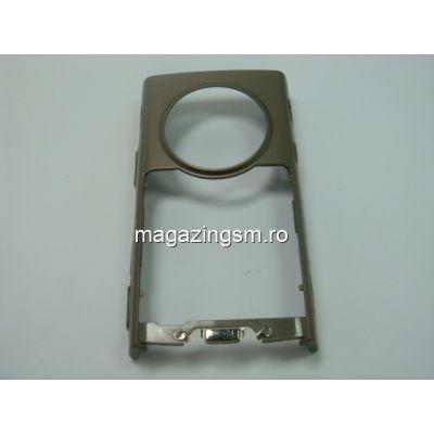 Carcasa Rama Corp Mijloc Nokia N95 Original Swap Maro
