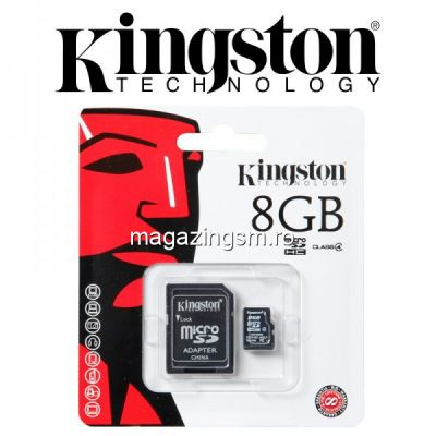 Card De Memorie Kingston Micro SD 8GB Class 4