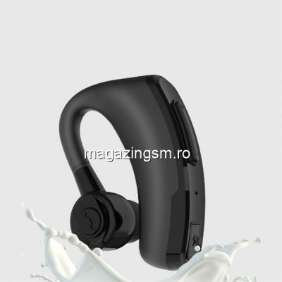 Casca Wireless Bluetooth Cu Microfon Stereo Samsung iPhone Huawei Asus Nokia Neagra