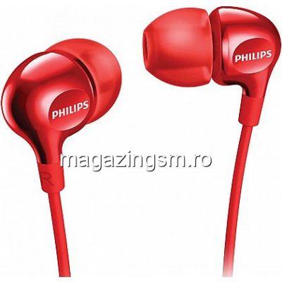 Casti audio Philips SHE3555RD Rosu