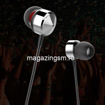 Casti Handsfree Cu Microfon Si Telecomanda Universale Negre