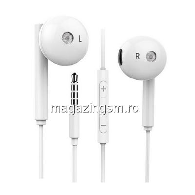 Casti Handsfree Huawei AM116 Originale Albe
