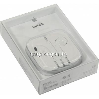 Casti Handsfree iPhone 5 5s 6 6 Plus 6s MD827FE/A Originale