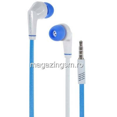 Casti Handsfree Motorola Moto X4 Cu Microfon Langston JD88 Albastre