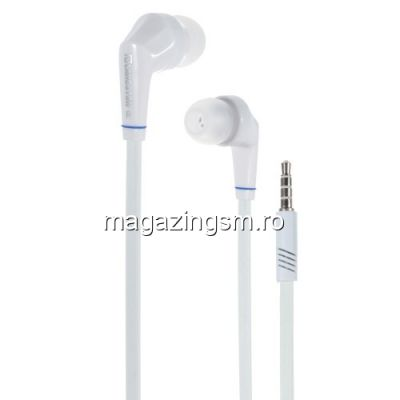 Casti Handsfree iPad Pro Cu Microfon Langston JD88 Albe