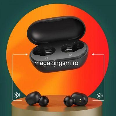 Casti Wireless Haylou GT1 XR Bluetooth 5.0 Negru