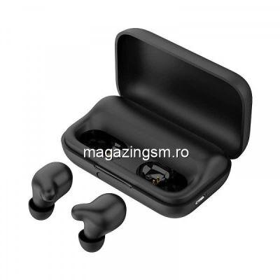 Casti wireless Haylou T15, Negru