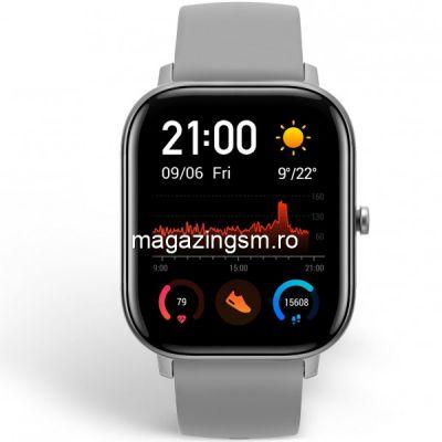 Ceas smartwatch Amazfit GTS Lava Grey