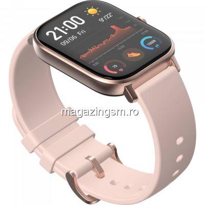 Ceas smartwatch Amazfit GTS Rose Pink