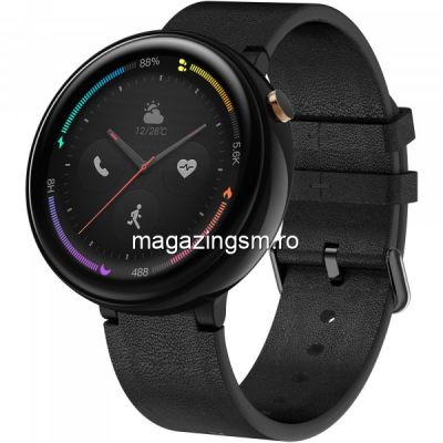 Ceas Smartwatch Amazfit Nexo 4G Ceramic Black