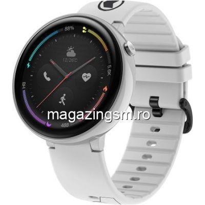 Ceas Smartwatch Xiaomi Amazfit Nexo 4G Ceramic White