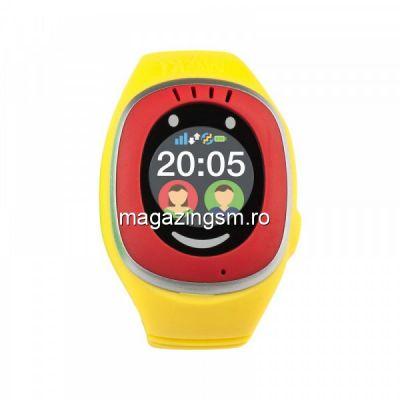 Ceas Smartwatch Myki Touch, GPS, Galben