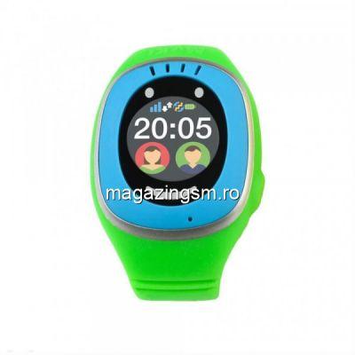 Ceas Smartwatch Myki Touch, GPS, Verde