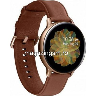 Ceas Smartwatch Samsung Galaxy Watch Active 2 44 mm Stainless steel  Gold