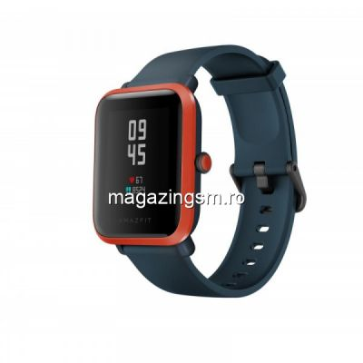 Ceas smartwatch Xiaomi Amazfit Bip S, Red Orange
