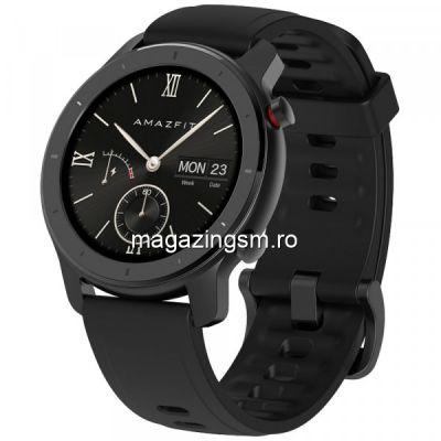 Ceas smartwatch Amazfit GTR 42mm Starry Black