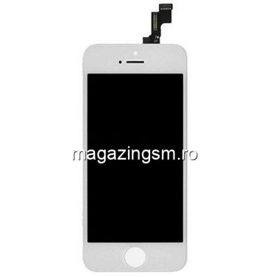 Display iPhone 5s Cu Touchscreen Alb