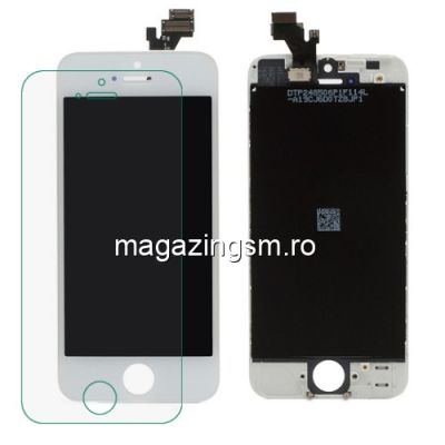 Display Cu Touchscreen iPhone 5 Alb