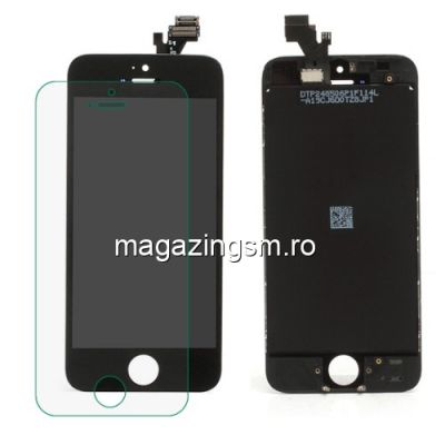 Display Cu Touchscreen iPhone 5 Negru OEM