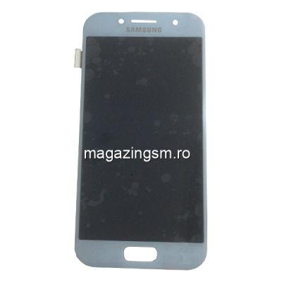 Display Cu Touchscreen Samsung Galaxy A3 A320F Original Albastru
