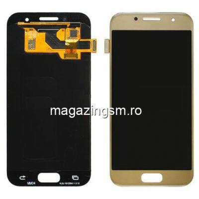 Display Cu Touchscreen Samsung Galaxy A3 A320F Original Auriu