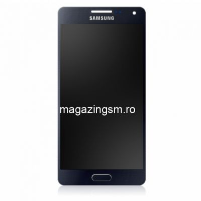 Display Cu Touchscreen Samsung Galaxy A5 A500F Original Negru