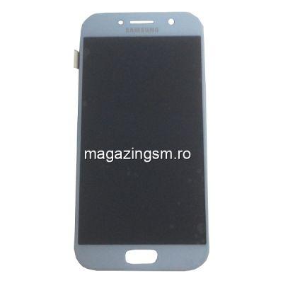Display Cu Touchscreen Samsung Galaxy A5 A520F Original Albastru