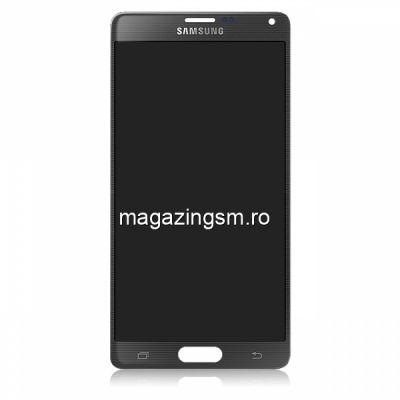 Display Cu Touchscreen Samsung Galaxy Note 4 N910 Original Negru