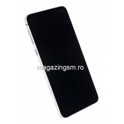 Display Cu Touchscreen Samsung Galaxy S10e G970 Original Alb