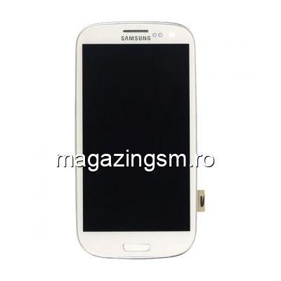 Display Cu Touchscreen Samsung Galaxy S3 I9300 Original Alb