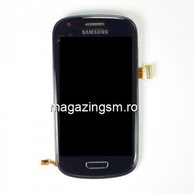 Display Cu Touchscreen Samsung Galaxy S3 Mini I8190 Original Albastru