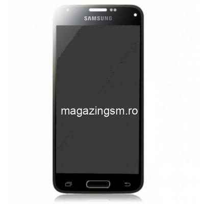 Display Cu Touchscreen Samsung Galaxy S5 mini SM-G800 Original Negru