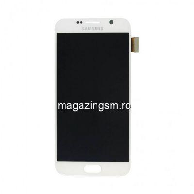 Display Cu Touchscreen Samsung Galaxy S6 SM-G920 Original Alb