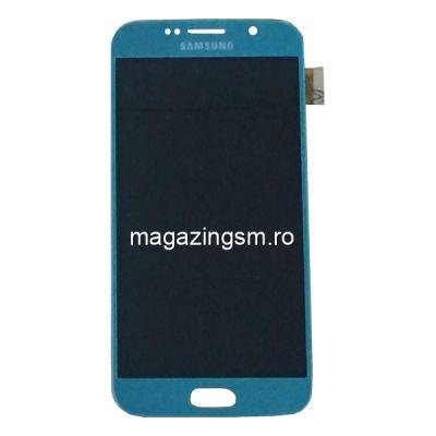 Display Cu Touchscreen Samsung Galaxy S6 SM-G920F Original Albastru