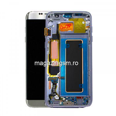 Display Cu Touchscreen Samsung Galaxy S7 Edge G935 Original Argintiu