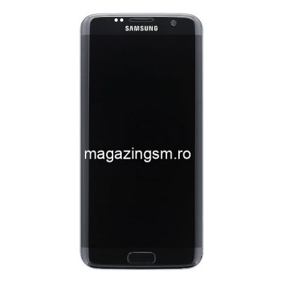 Display Cu Touchscreen Samsung Galaxy S7 edge Original SWAP Negru